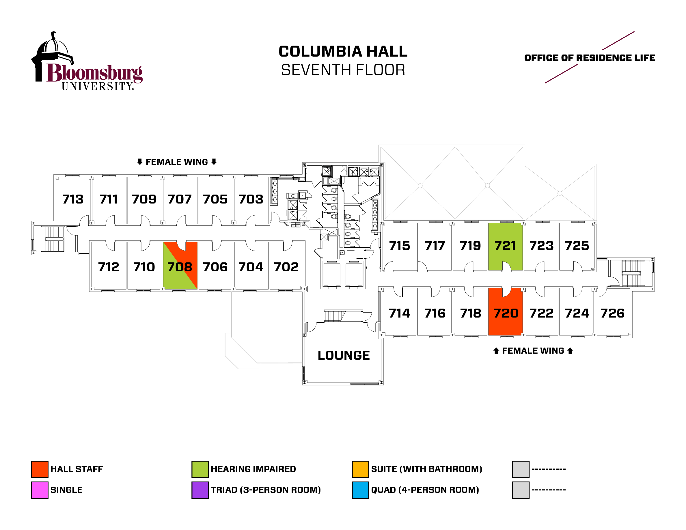 Bloomsburg University Campus Map 70391 Enews