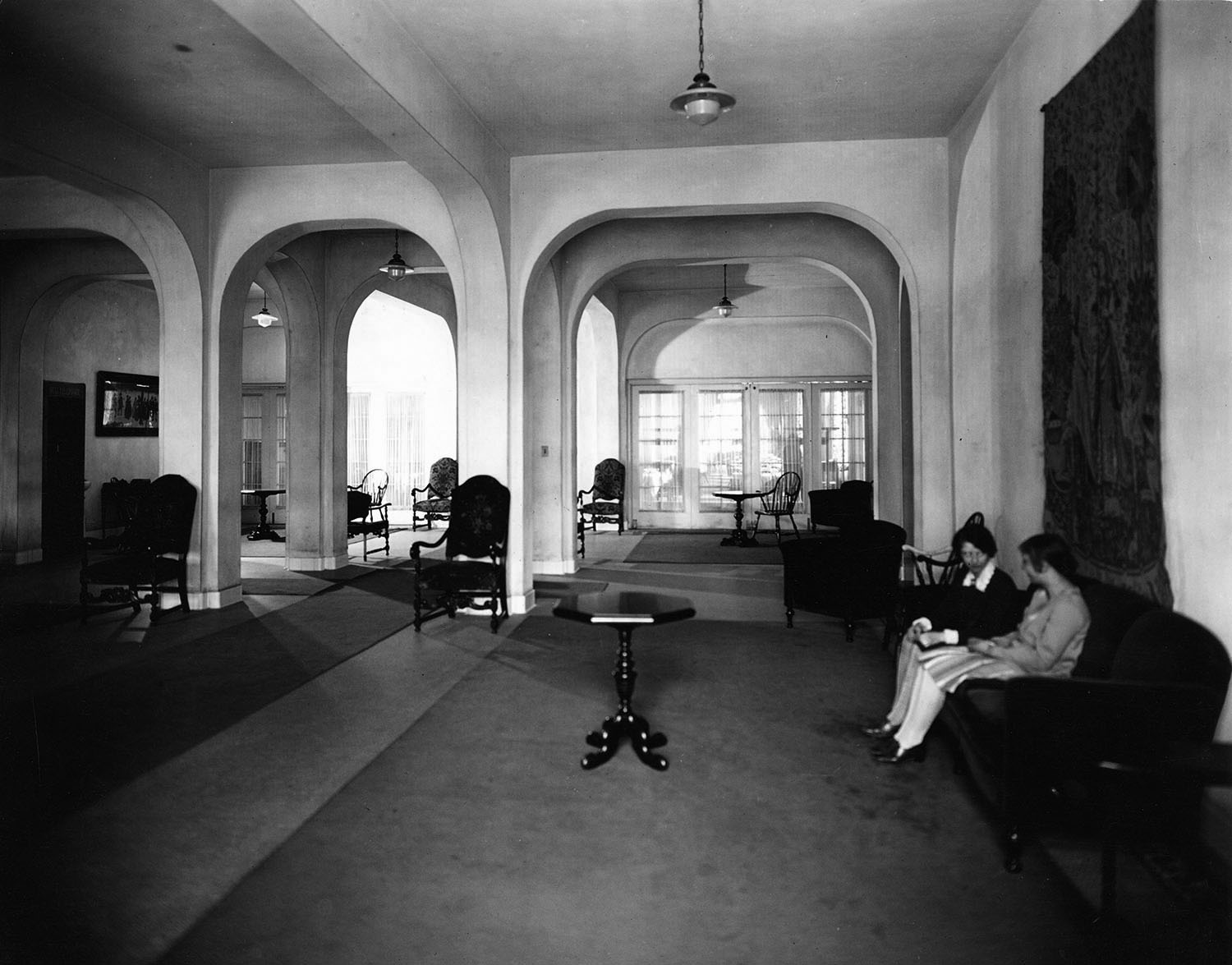 1927 Waller Hall Lounge