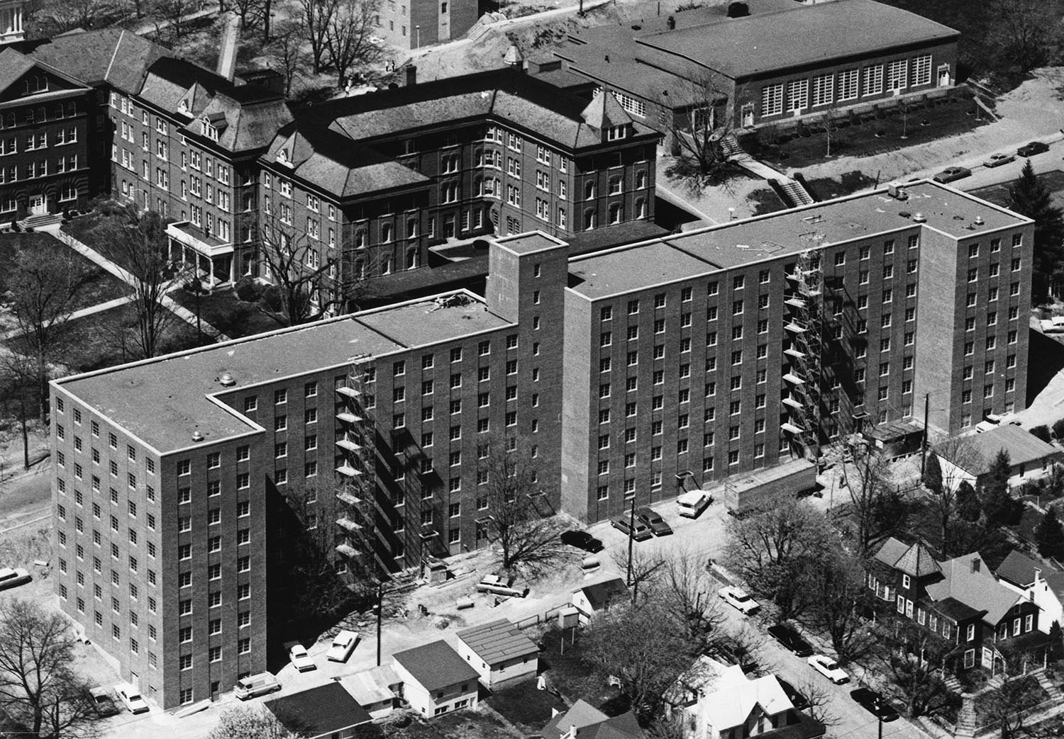 1968 Elwell Hall Construction