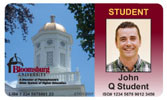 Bloomsburg University ID Card